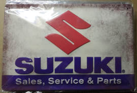 Metaalplaat Suzuki