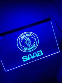3D ledverlichting Saab