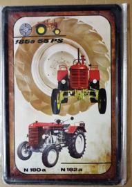 Metaalplaat Steyr 135a 55 PS