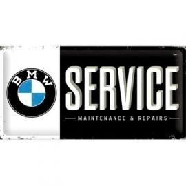 Metaalplaat BMW Service