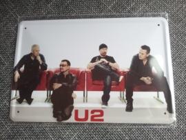 Metaalplaat U2