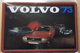 Metaalplaat Volvo '73