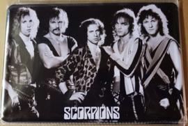 Metaalplaat Scorpions