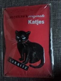 Metaalplaat Langenberg's Originale Katjes