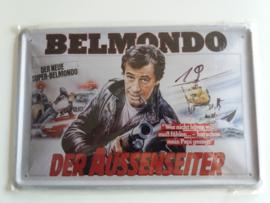 Metaalplaat Belmondo