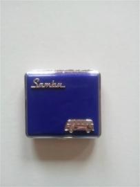 Sigarettendoos Volkswagen Samba Blauw