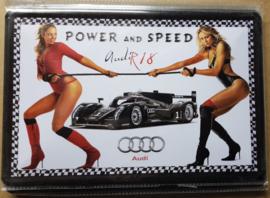 Metaalplaat Audi R18