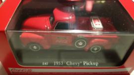 Schaalmodel 1953 Chevy Pickup  Coca Cola 1/43