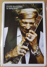 Metaalplaat The Rolling Stones (Keith Richards)
