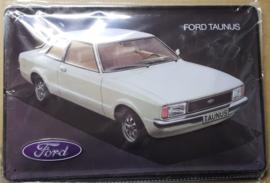 Metaalplaat Ford Taunus