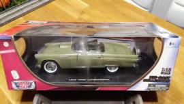 Schaalmodel Ford Thunderbird 1956  1/18