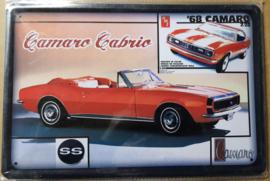 Metaalplaat Chevrolet Camaro