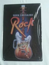 Metaalplaat gitaar Rock