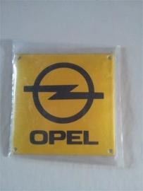 Logo/merk plaatje Opel