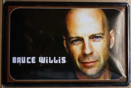 Metaalplaat Bruce Willis