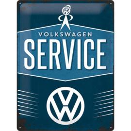 Metaalplaat Volkswagen Service
