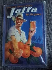 Metaalplaat Jaffa Juice