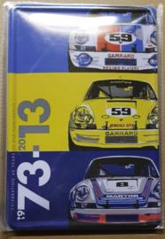 Metaalplaat Porsche 1973 - 2013