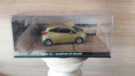 Schaalmodel Ford Ka James Bond collectie  1/43