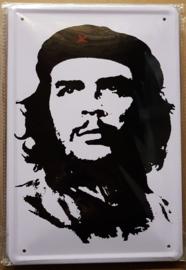 Metaalplaat Che Guevara