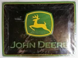 Metaalplaat John Deere