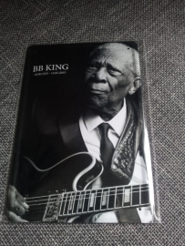 Metaalplaat BB King