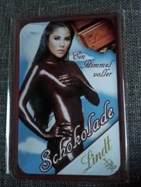 Metaalplaat Chocolat Lindt