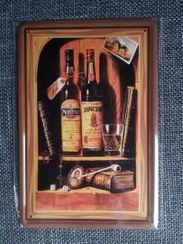 Metaalplaat Whiskey