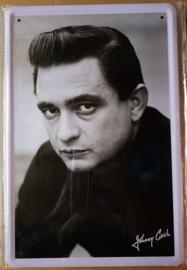 Metaalplaat Johnny Cash