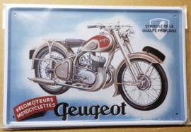 Metaalplaat Peugeot