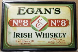 Metaalplaat Whiskey Egan's