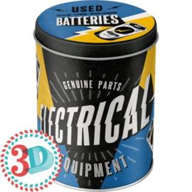 """Voorraaddoos """"Batteries"""""""