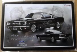 Metaalplaat Ford Mustang 1965