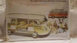 Metaalplaat Volkswagen