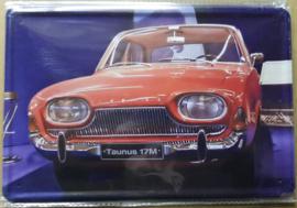 Metaalplaat Ford Taunus 17M