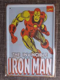 Metaalplaat Iron Man