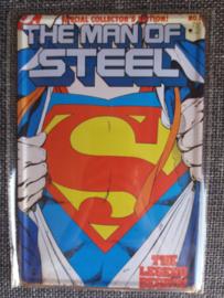 Metaalplaat Superman