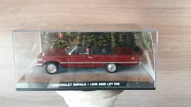 Schaalmodel Chevrolet Impala James Bond collectie  1/43