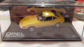 Schaalmodel Opel GT  1968 -1973  1/43