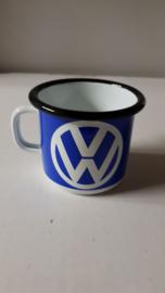 Tas/mok in emaille Volkswagen