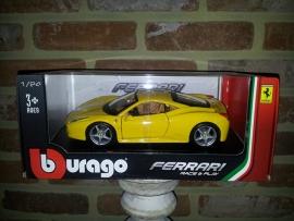 Schaalmodel Ferrari 458 Italia 1/24