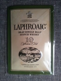 Metaalplaat Whiskey Laphroaig