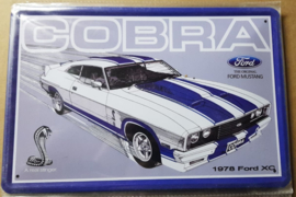 Metaalplaat Ford Cobra