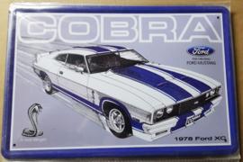 Metaalplaat Ford Cobra