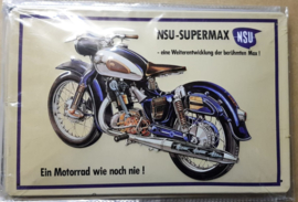 Metaalplaat NSU Supermax