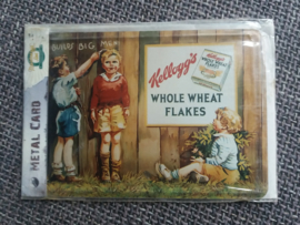 Metalen Postkaart Kellogg's