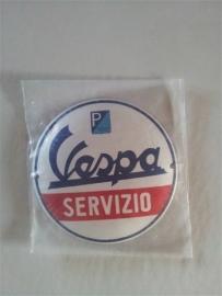 Logo/merk plaatje Vespa