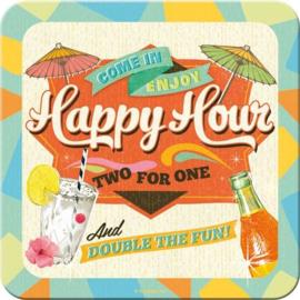 Onderleggers Happy Hour