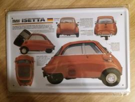 Metaalplaat BMW Isetta