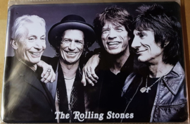 Metaalplaat The Rolling Stones